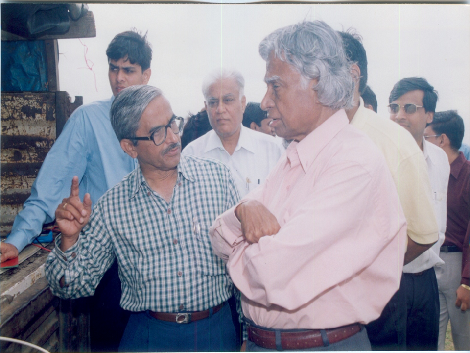 With Dr. Kalam